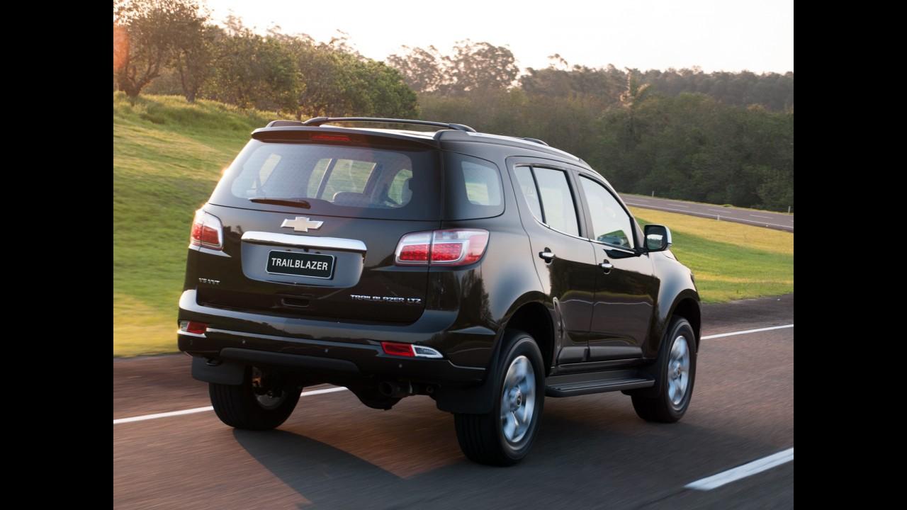 GM convoca 5.777 Chevrolet Trailblazer para reparar cinto de segurança