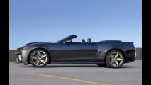 GM confirma Chevrolet Camaro ZL1 Conversível com 580 cv no Salão de Los Angeles