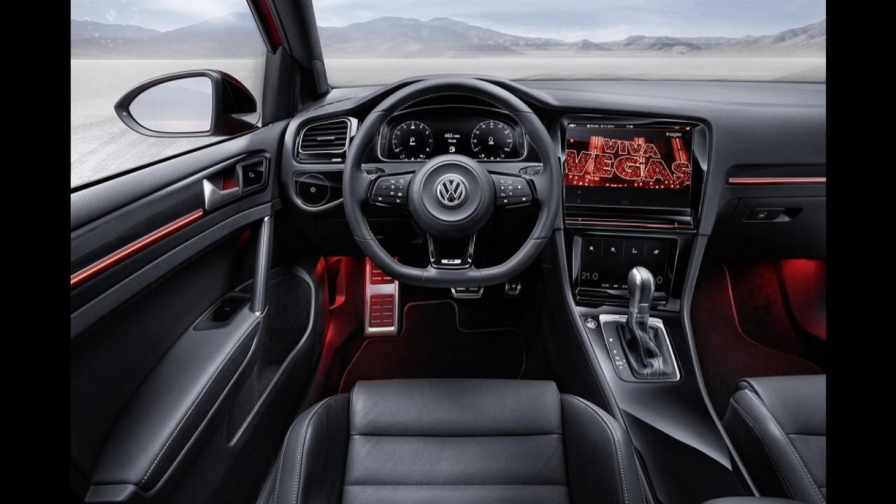 Golf R Touch é conceito super tecnológico com painel que entende gestos