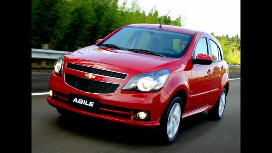 Chevrolet Agile equipado com câmbio automatizado será lançado em agosto