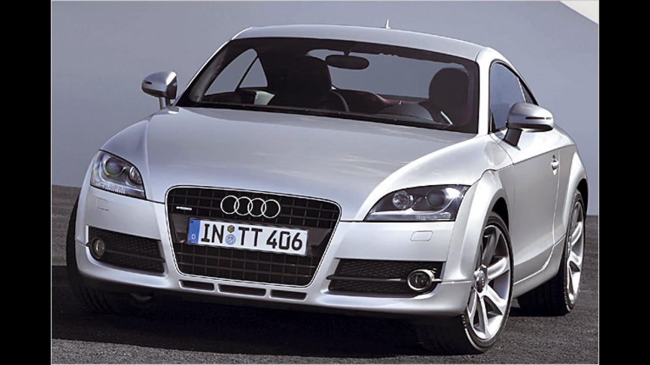 Audi TT und VW Golf