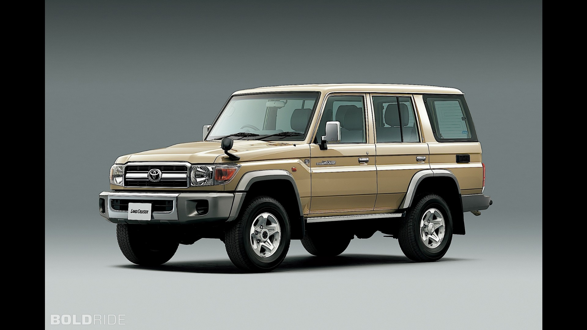 Toyota Land Cruiser 70 >> Toyota Land Cruiser 70 Series Limited Edition