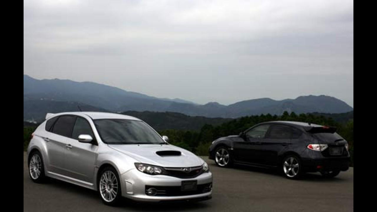 Subaru Impreza WRX STi 2008 - Novo modelo vem com motor 2.5l turbo de 304 cavalos e tração 4x4