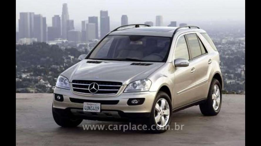 Linha 2008 do Mercedes ML chega com novidades - ML 500 ganha novo motor