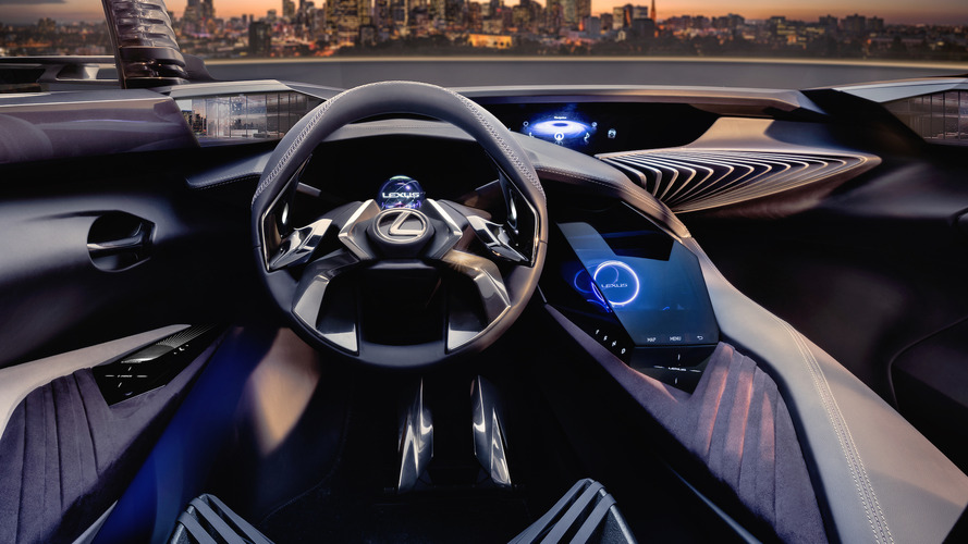 Lexus reveals UX Concept interior with holographic 3D experience