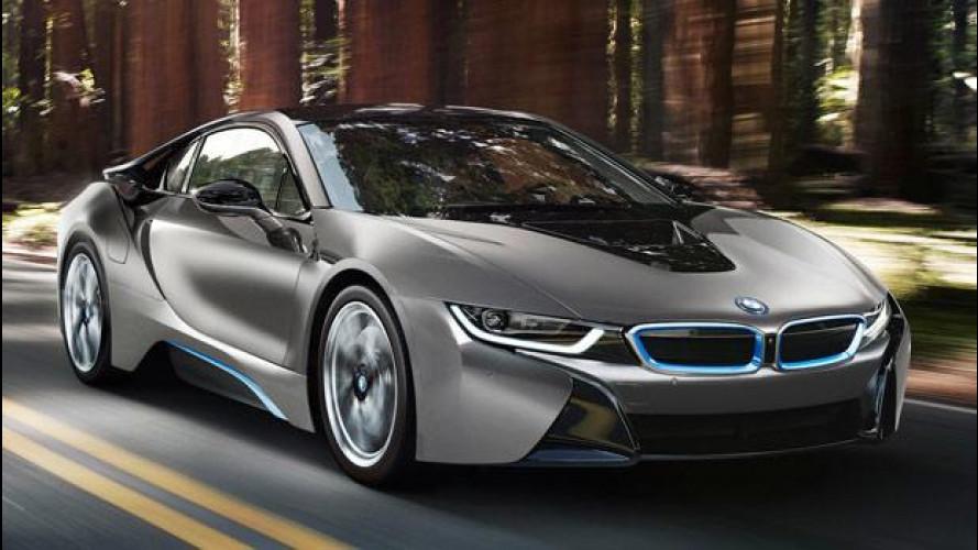 BMW i8, un esemplare unico all'asta in California