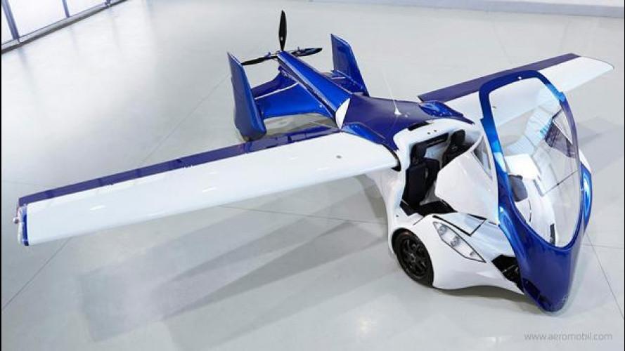 AeroMobil 3.0, tutto sull'auto-aereo