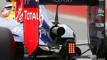 Daniel Ricciardo, Red Bull Racing RB10 exhaust detail