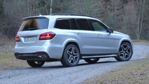 2017 Mercedes-Benz GLS test drive