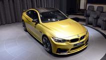 BMW M4 in Austin Yellow