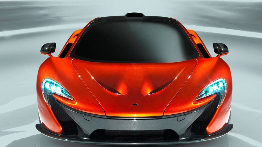 New McLaren P1 concept photos available