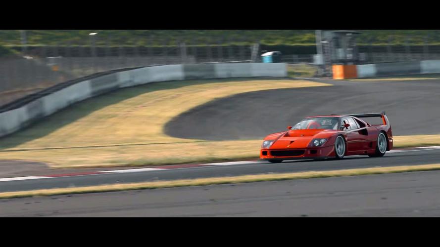 Ferrari 288 GTO Evoluzione And F40 LM Competizione