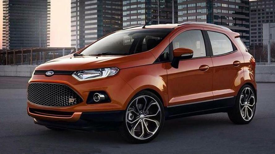 Ford Ecosport em versão esportiva ST-Line pode surgir em 2018