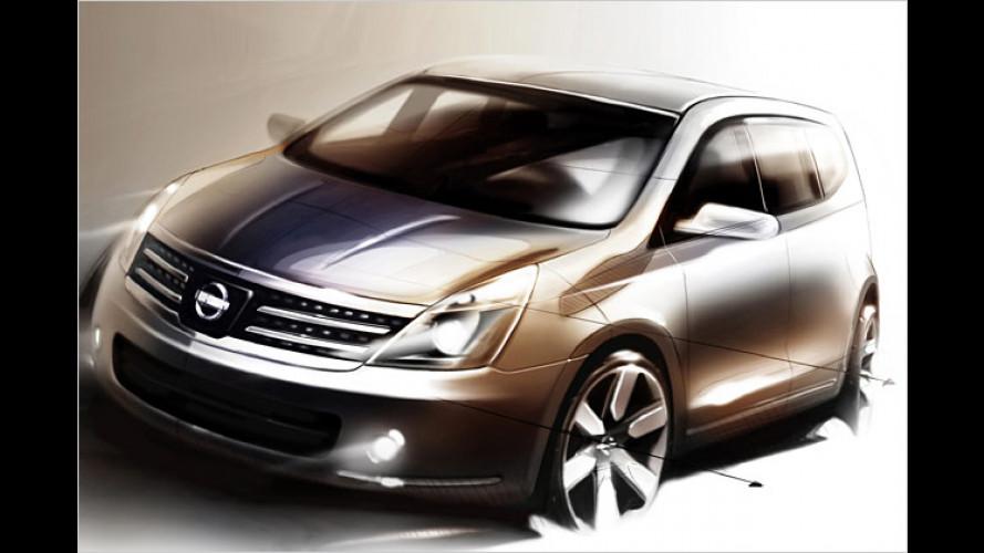 Start in China: Nissan präsentiert siebensitziges Weltauto