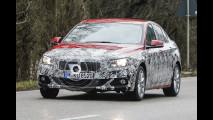 BMW Serie 1 berlina, le foto spia