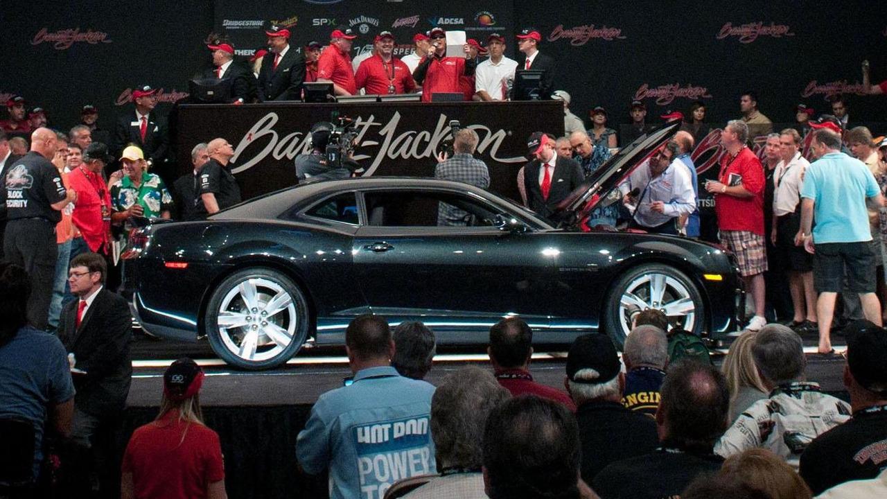 2012 Chevrolet Camaro ZL1 at Barrett-Jackson auction - 26.9.2011