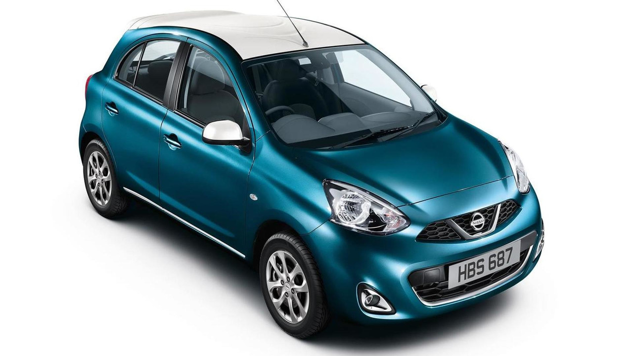 Nissan Micra Limited Edition (UK-spec)