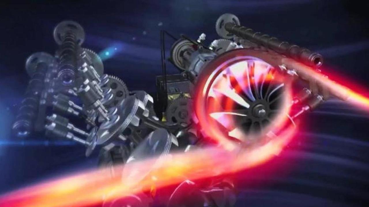 Ferrari 2014 F1 engine presentation video screenshot
