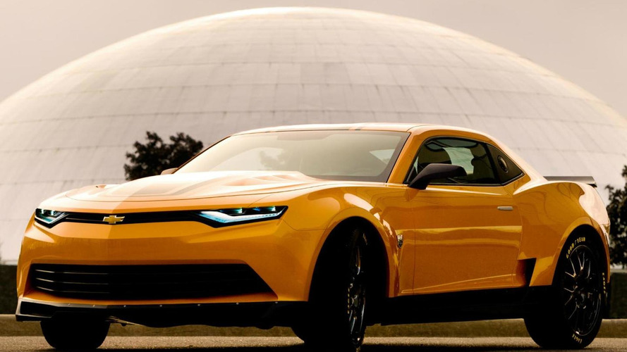 Chevrolet highlights the Camaro in Transformers: Age of Extinction