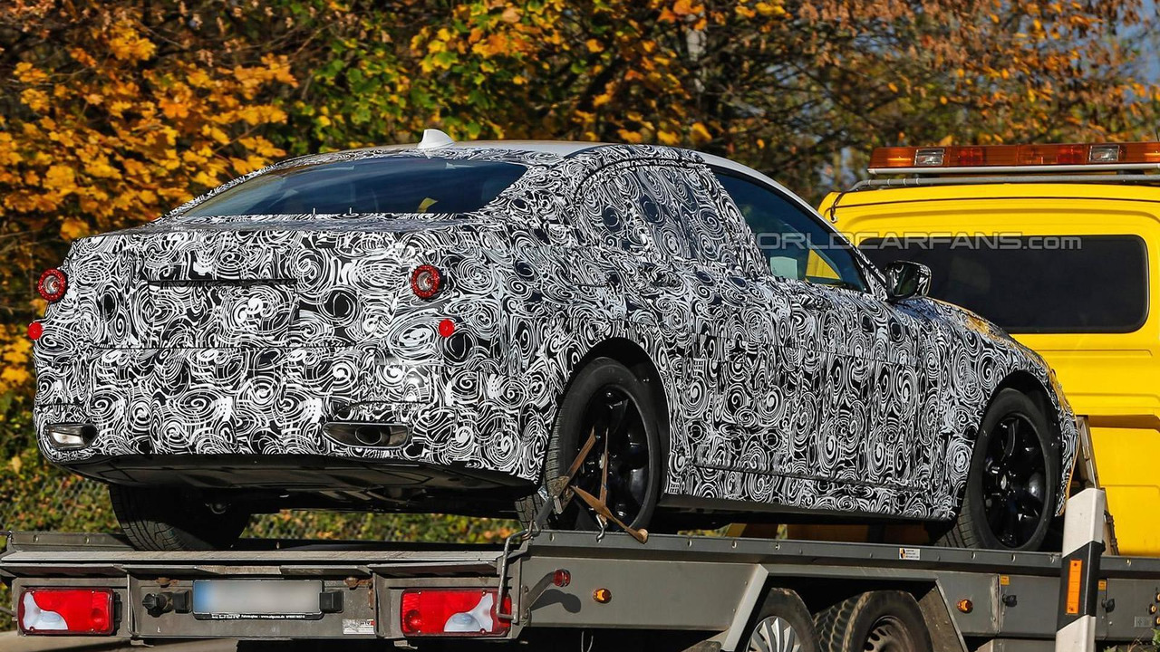 2016 BMW 5-series sedan spy photo