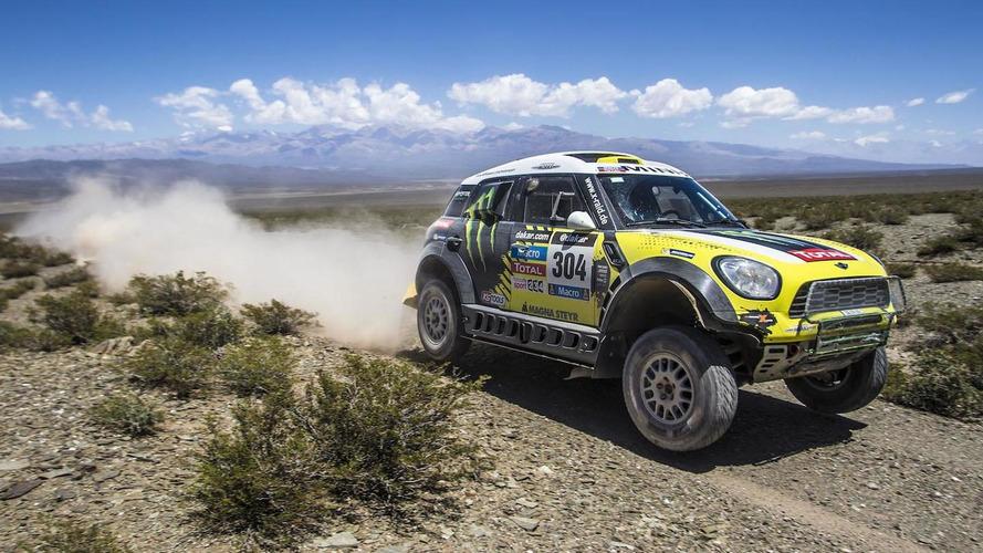 MINI sweeps the Dakar Rally, Joan