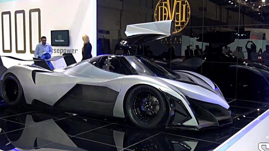 Devel Sixteen developer talks about the 5,000 bhp supercar [video]
