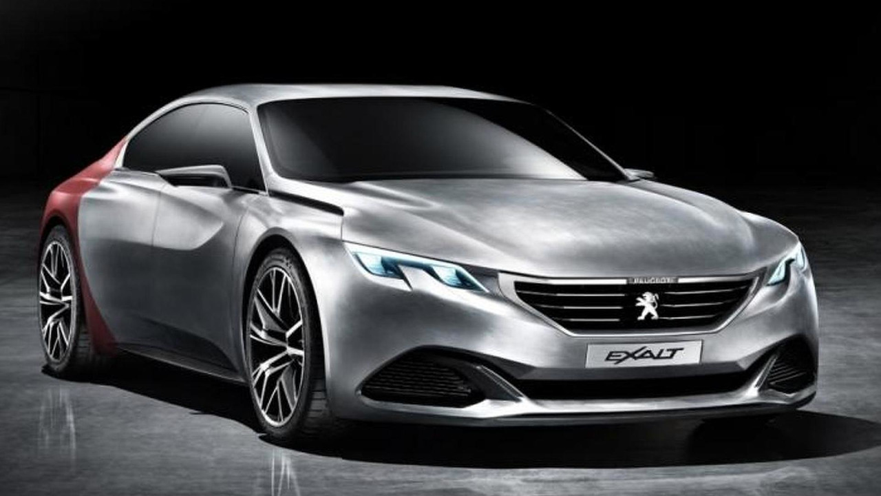 peugeot 408 gt four door coupe in the pipeline motor1. Black Bedroom Furniture Sets. Home Design Ideas