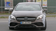 Possible hotter 2017 Mercedes-AMG A45 spy photos