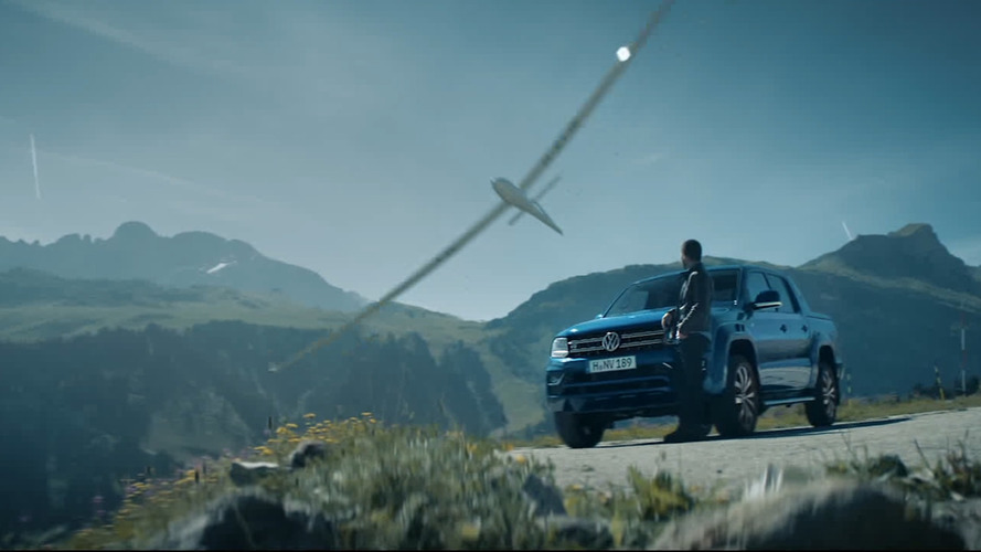 Volkswagen Amarok à Courchevel