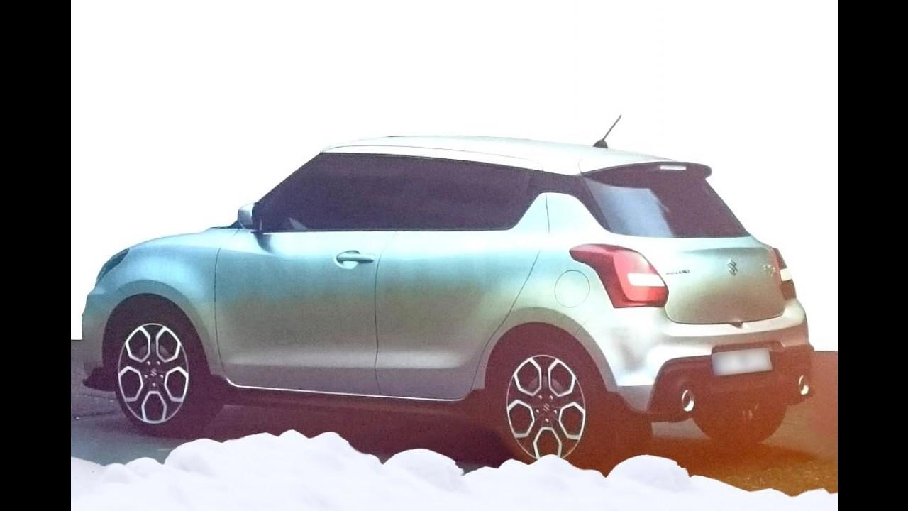Novo Suzuki Swift 2017 é revelado em fotos vazadas na internet