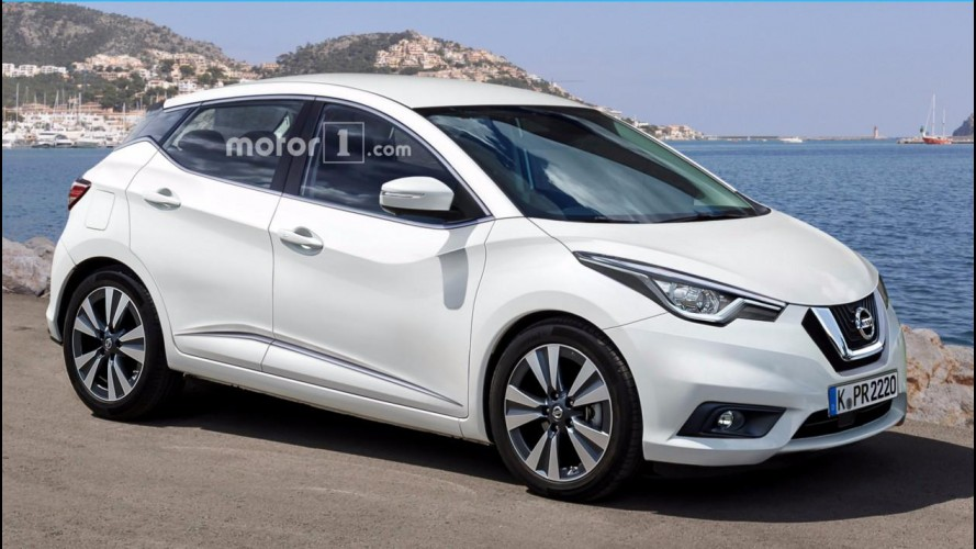 Nissan March 2017 ficará maior para brigar com VW Polo e Ford Fiesta - projeção