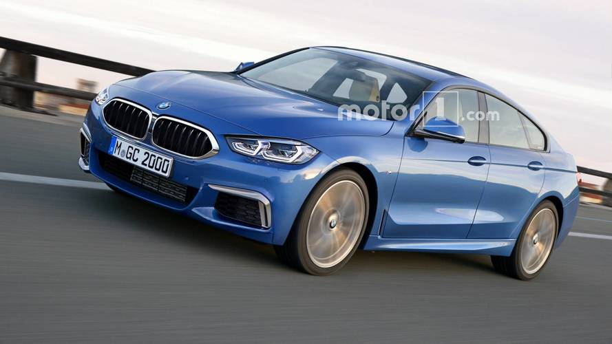 BMW 2 Series Gran Coupe Render Previews The CLA Fighter