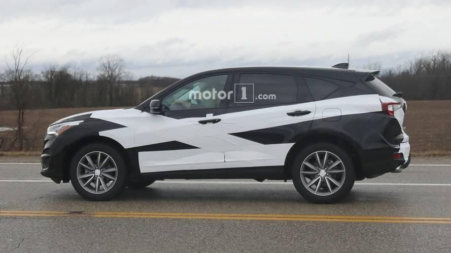 2019 Acura RDX Spy Photos