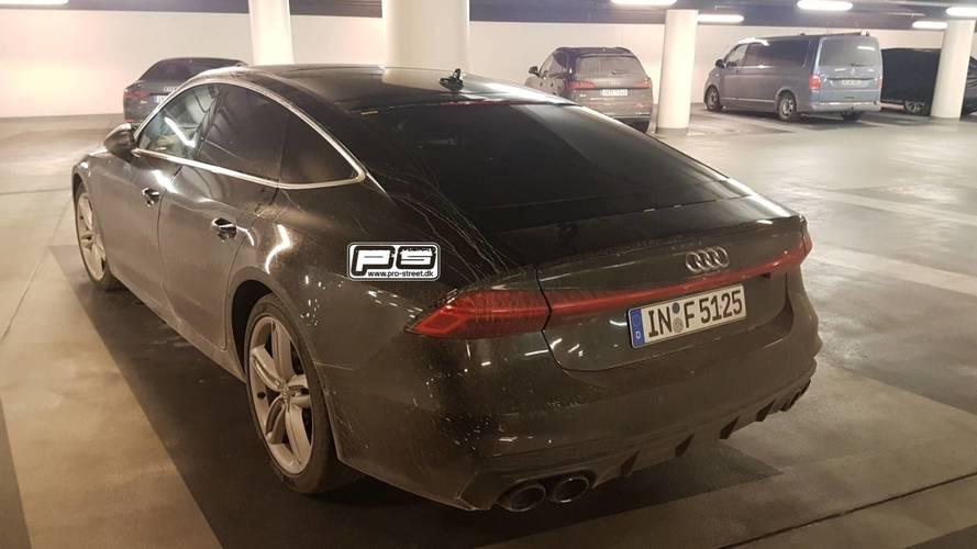 Audi S7 Sportback kamuflajsız olarak görüntülendi!