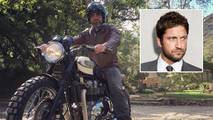 Gerard Butler has motorcycle accident