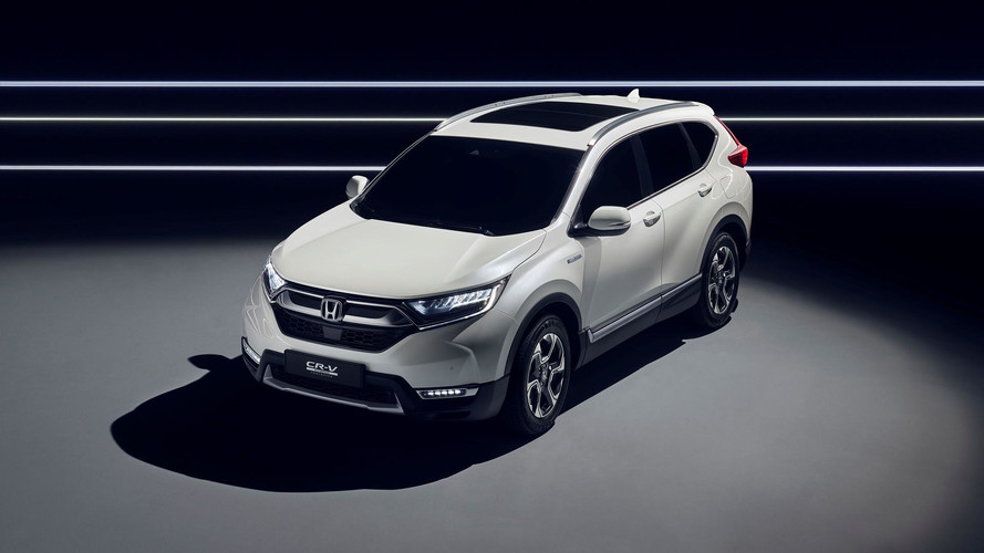 Honda - Le CR-V se convertit à l'hybride à Francfort