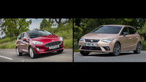 2017 Fiesta versus Seat Ibiza: the numbers