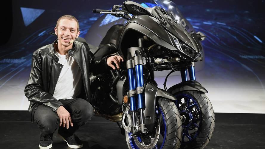 Yamaha Niken, la triple-triple que deslumbra en el EICMA