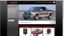 2009 Dodge Ram on Mopar Accessories site