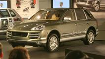 Porsche Cayenne Hybrid at LAIAS