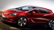 Opel GTC Paris concept previewed