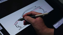 Audi A1 body design teaser 18.01.2010