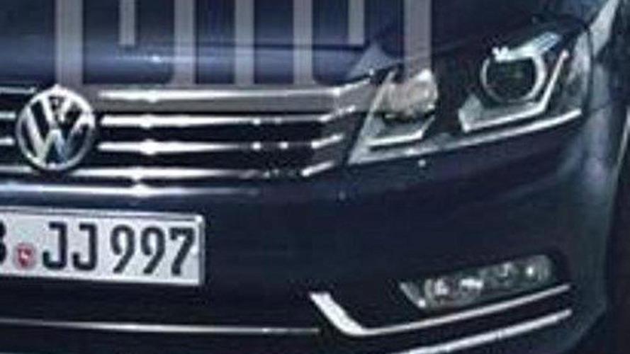 Next generation 2012 VW Passat photo leaked?
