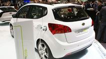 Kia Venga EV Concept live in Geneva 03.03.2010