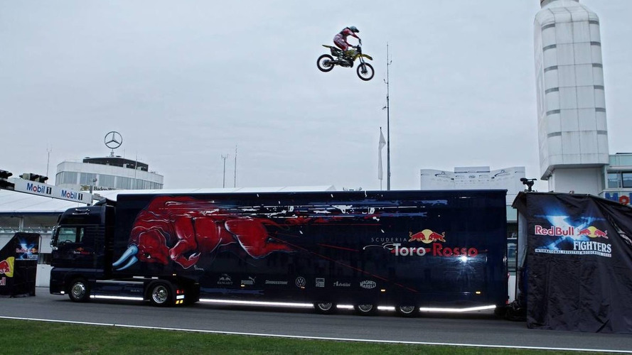 Red Bull equipment in road crash near Melbourne