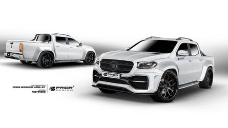 Mercedes X-Class Muscles Up With Tuner Widebody