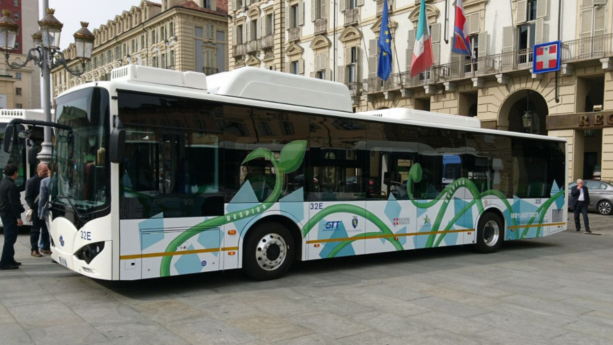 A Torino e Novara arrivano i bus elettrici cinesi