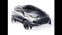 Ford EcoSport reestilizado pode aparecer também no Salão de Los Angeles