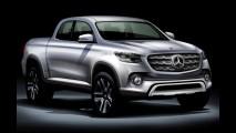 Mercedes-Benz GLT: inédita picape média terá detalhes revelados em outubro