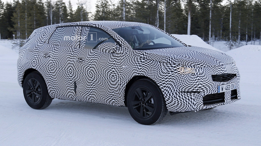 2017 Opel Grandland X kışa hazırlanırken görüntülendi